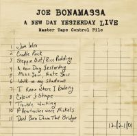JOE BONAMASSA-A NEW DAY YESTERDAY LIVE (180g Vinyl) [2012]